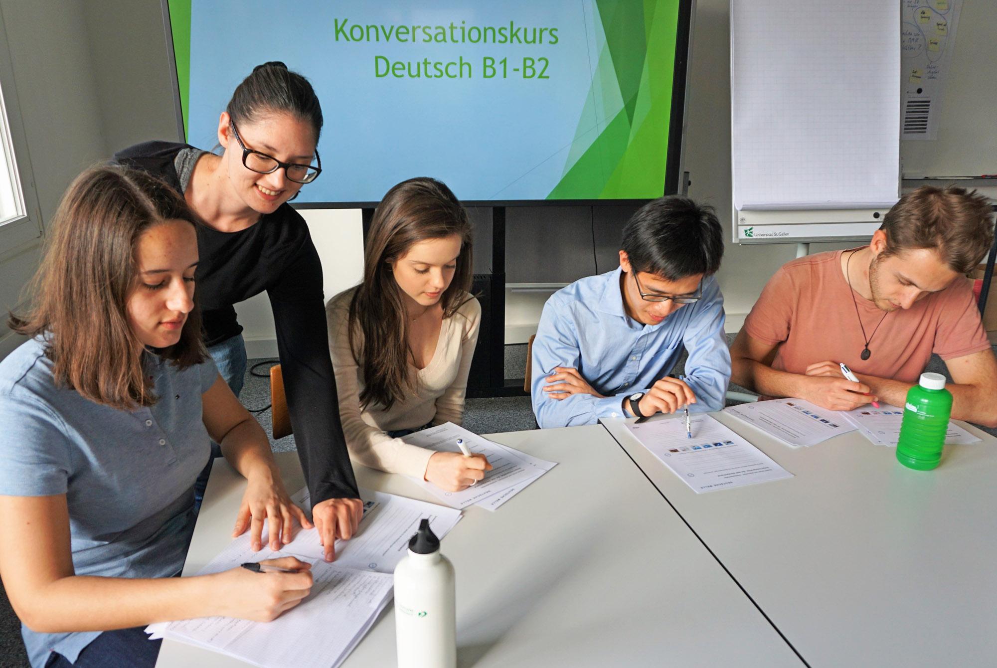German Conversation Course - Julia B. - 2018
